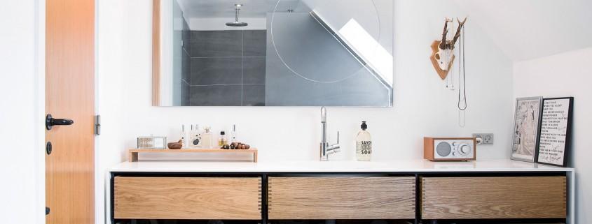 Moderne badezimmerm bel model minimal in eiche und for Exclusive badezimmereinrichtung