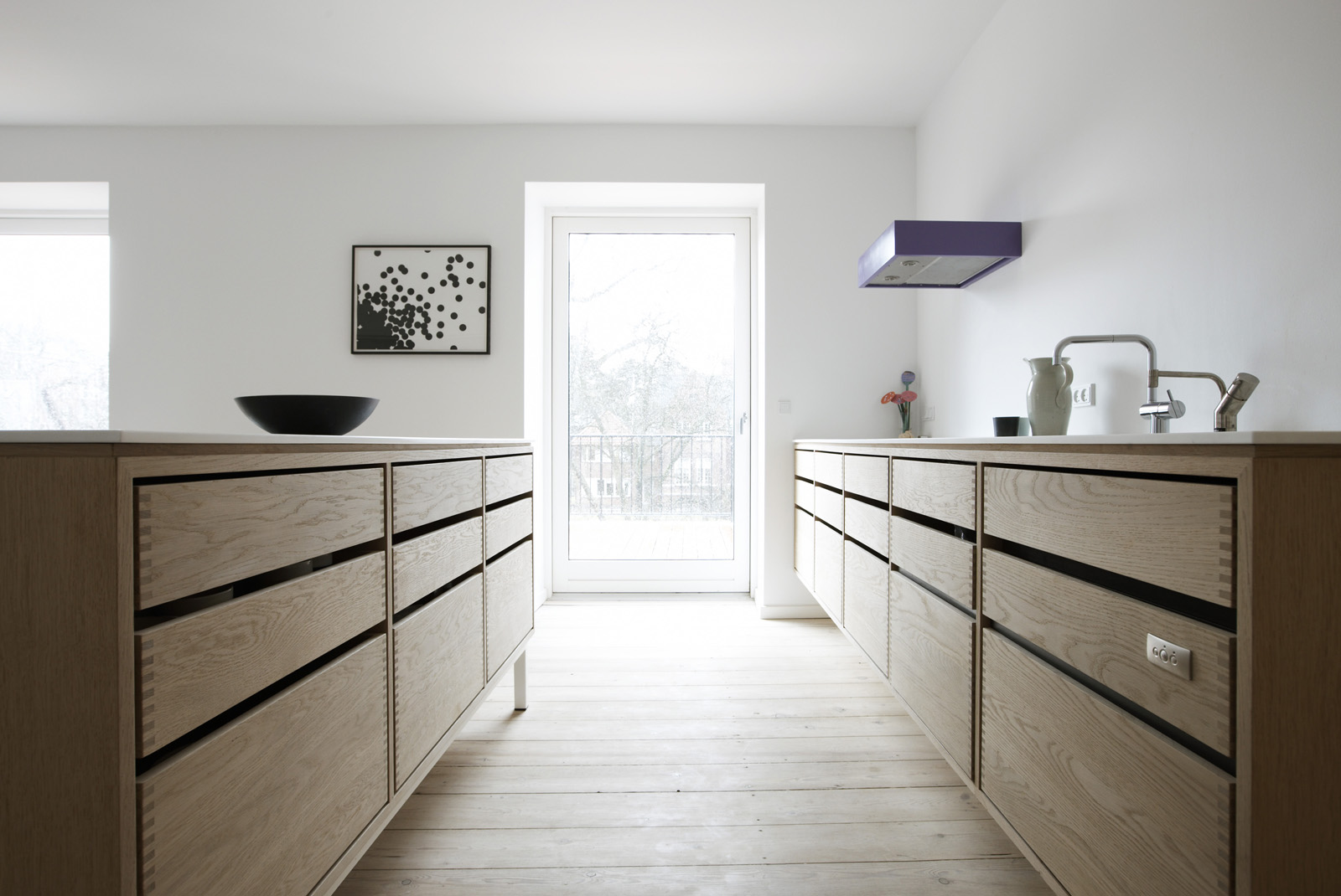 Danish Designed Wooden Kitchen Oak Wood By Nordic Hands